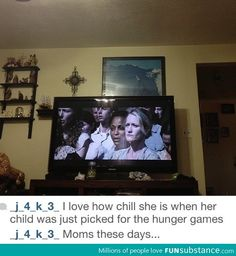 """Hunger Games. Okay to be honest I don't think she looked """"chill"""" she looked tense<---THANK YOU!!!"""