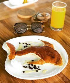 Six Sense Laamu nurse shark Toddler Food, Toddler Meals, Pancake Art, Nurse Shark, Maldives, Pancakes, French Toast, Breakfast, The Maldives