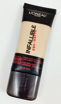 L'oreal Infallible Pro-Matte Foundation Review and Swatches | The Budget Beauty Blog