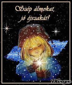 Laku Noc, Star Children, Beautiful Gif, Good Morning Good Night, Gif Pictures, Spiritual Inspiration, Emoticon, Love And Light, Pray For Us