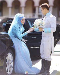 Selamat Memasuki wedding impian mu istrikuu... . .  Thanks to all my wonderful Vendors that made our wedding dream come true!  . Gown and Suit by @kikiimahendra  Shot by @pastel_studio  MUA by @how_balikpapan  Decoration by @v.decoration.samarinda Wedding organizer by Agashi Project @nisa_syasya @yuli_aja @bieobieruliyanti Video by @lukmanhushak  MC by Said Husin & @regina.indiana Photobooth by @duatiga_photography  . #azkilovestory #princecharming #cinderella #prince #disney #disneyland…