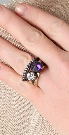 Love layered rings.