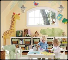 Children Playroom photo | Kids Play Room Design on 25 Kids Playroom Design Ideas Interior ...