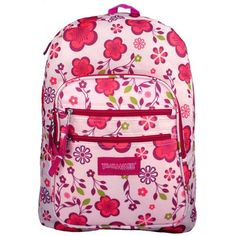 Trail Maker Pink / Purple Spring Flowers Pattern Daypack Backpack / School Bag MyGift, http://www.amazon.com/dp/B003HG9NZM/ref=cm_sw_r_pi_dp_lfcdrb0NTSQ6F