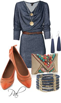 """ModCloth Flats"" by pamlcs on Polyvore"