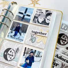 Heidi Swapp, You're Awesome, Project Life, Arts And Crafts, Scrapbooking, Journal, Memories, Happy, Projects