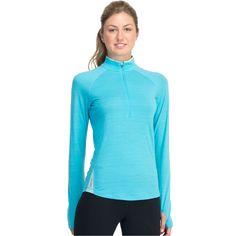 Icebreaker Women's GT Base Layer 200 Long Sleeved Pace Half Zip Clearance - Women's Next-to-Skin Layers - Women's Icebreaker - Icebreaker - Bivouac Online Store