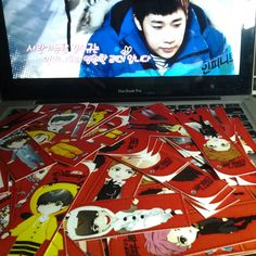 Bookmark giveaway for gathering 4th Anniversary INFINITE (JKT)