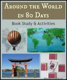 around the world in days book study activities activities  around the world in 80 days book study activities educationpossible