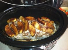 Will Eat Anything...Twice: Crock Pot Apple Pork Loin [Recipe]