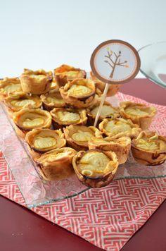 Mini pumpkin pies. #thanksgiving #food #pie