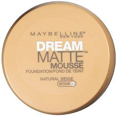 """best foundation - doesn't make your face feel 3"""" thick"""