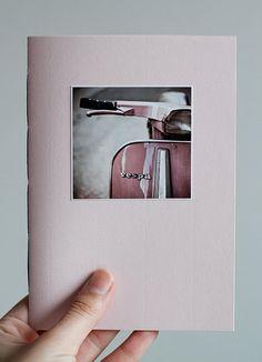 pink vespa notebook