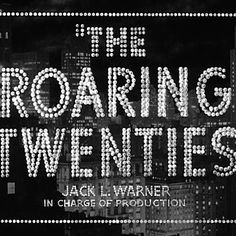 The Roaring Twenties Playlist!