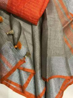 Soft Silk Sarees, Cotton Saree, Modern Saree, Organza Saree, Designer Blouse Patterns, Green Saree, Elegant Saree, Saree Dress, Sari