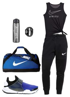 Gym style by dalma-m on Polyvore featuring polyvore fashion style NIKE clothing