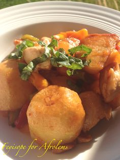 Sweet and Sour Baked Potatoes