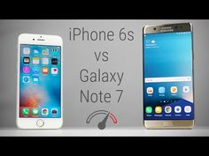 Test de velocidad: Galaxy Note 7 contra iPhone 6s - http://www.actualidadiphone.com/test-velocidad-note-7-iphone-6s/