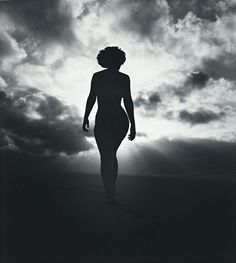 Nude in sunlight. earthly.