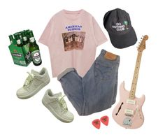 """""""i feel it in the air"""" by duderanch ❤ liked on Polyvore featuring NIKE, indie, Punk, grunge, art and aesthetic"""