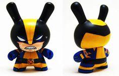 Wolverine toy art  40 exemplos criativos de Toy Art | Criatives | Blog Design, Inspirações, Tutoriais, Web Design