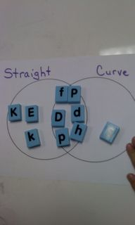 Kindergarten Letter Sorts