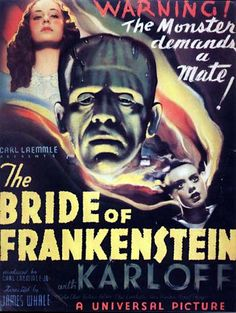 """Bride of Frankenstein (1935) -- This one scared me more than the original Frankenstein when I was a kid. """"Young Frankenstein"""" is based more on this one than the others, too."""