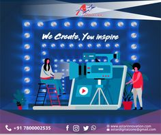 Video Shoot - Great marketing starts with great stories. Be unique, inspire, and connect. A Star innovation helps to provide new technologies and services for Achieving your business Goal.  Email- astardigitalzone@gmail.com Visit- www.astarinnovation.com  #DigitalMarketing #DigitalMarketingLucknow #AStarInnovation #AdsShoot #VideoMarketing #Promtions #Goal #Business #Engagement #Eduction #Awareness #LimitedPeriod #GoogleAds #Digitalindia #Lucknow #Powerfull #Trend Out Of Home Advertising, Digital India, Google Ads, Business Goals, Great Stories, New Technology, Digital Marketing, Connect, Innovation