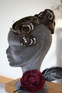Ines Lang Design... Ballroom Dance, Hair Styles, Earrings, Fashion, Latin Dance, Accessories, Crystals, Dance, Hair Style