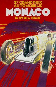 Falcucci - 2e Grand Prix Automobile de Monaco (1930) - 1985 - W.B.