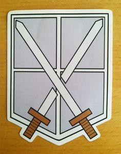 Attack On Titan Symbol | Attack on Titan Emblem Stickers - Thumbnail 4
