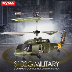 Syma S102G/S108G/S109G/S111G RC Attack Helicopter 3CH Gyro LED Indoor Shatterproof Radio Remote Control Kids Toys //Price: $26.63 & FREE Shipping //     #RChelicopter
