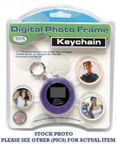 NEW in the Package! Sakar Digital Photo Keychain-Model 12690