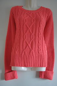 Coral Cable Knit Jumper £10.99