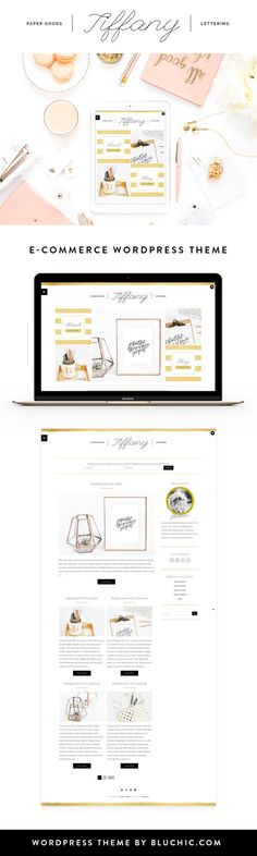 Meet Tiffany theme – Stylishly designed with the makers, calligraphers, and DIYpreneurs in mind. Built for E-Commerce shop, Tiffany celebrates minimal, feminine flexibility for online boutiques with the banner tiled homepage layout. Tiffany theme makes it easy for you to express your sense of style and create your unique online brand. Cherry-pick your brand colors, …Read more