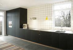Sort snedkerkøkken - design af Nicolaj Bo