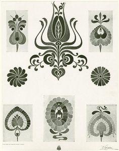 Hungarian designs at NYPL