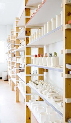 Inspired by the organization of Amy Hamley's studio! via Design*Sponge
