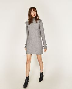 FRILLY DRESS-DRESSES-WOMAN | ZARA United States