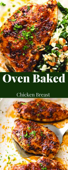 This one's for everyone who put poultry confront in their shopping trolley this week… Succulent Oven Baked Chicken Breast. Rubbed with a re. Best Baked Chicken Recipe, Oven Baked Bbq Chicken, Baked Chicken Legs, Baked Chicken Tenders, Oven Chicken Recipes, Baked Chicken Breast, Chicken Drumsticks, Keto Chicken, Chicken Thighs