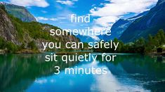 a simple 3 minute mindfulness exercise, to help clear the mind Mindfulness Exercises, Mindfulness Meditation, Incense Holder, I Care, Care About You, Spirituality, Videos, Spiritual
