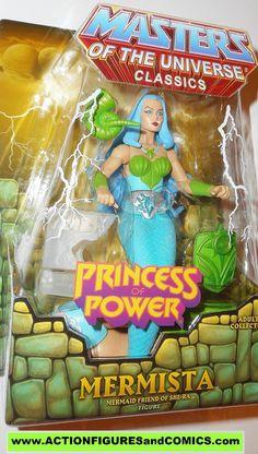 Masters of the Universe MERMISTA she-ra classics princess of power motu action figures moc