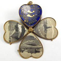 Antique Victorian Enamel Charm Opens 4 Leaf Clover from Orange Tree Collectables on Ruby Lane Victorian Jewelry, Antique Jewelry, Vintage Jewelry, Ancient Jewelry, Cross Jewelry, Charm Jewelry, Jewlery, Vintage Charm Bracelet, Charm Bracelets