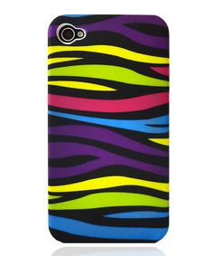 Take a look at this Bold Zebra Stripe Case for iPhone 4/4S by Atomic9 on #zulily today!