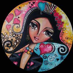 Arte Disney, Disney Art, Art Pop, Frida Art, Pottery Painting Designs, Cubism Art, Bohemian Art, Art Abstrait, Retro Art