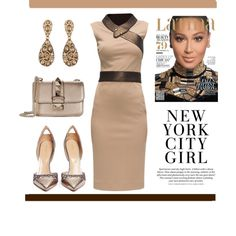 A fashion look from November 2015 featuring Lattori dresses, Sergio Rossi pumps and Valentino shoulder bags. Browse and shop related looks.