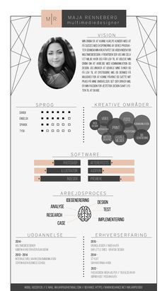 Infografisk CV. on Behance