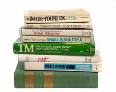 Garbo's personal collection of self help books