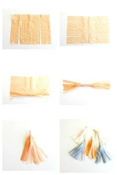 DIY Tassel Garland // DIY guirnalda tassel