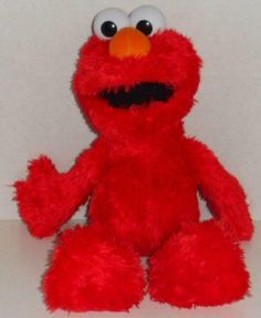 Hasbro Tickle Me Elmo Plush Toy - Red for sale online Sesame Street Place, Big Bird, Plush Dolls, Amazing Toys, Pet Toys, Cool Toys, Tigger, Laughing